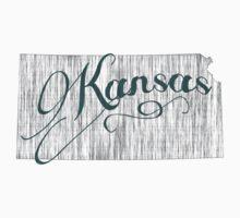 Kansas State Typography Baby Tee