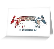 Blues Brothers Greeting Card