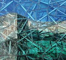 Federation Square, Melbourne by Maggie Hegarty