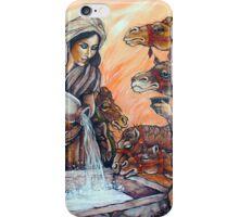 Isaac & Rebekah Christian Painting iPhone Case/Skin
