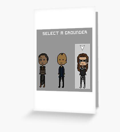 Select Lexa  Greeting Card