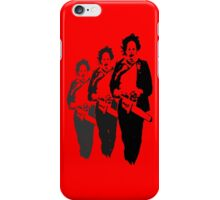 Leatherfaces iPhone Case/Skin