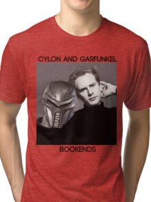 Cylon and Garfunkel Tri-blend T-Shirt