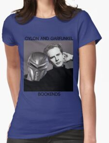 Cylon and Garfunkel Womens Fitted T-Shirt