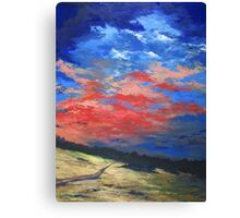 """Sunset Palette"" Canvas Print"