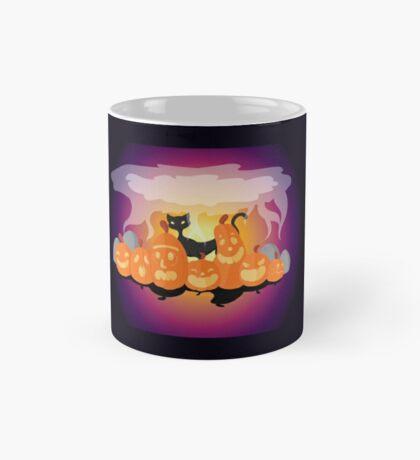 Pumpkins are Cats Best Friend Mug