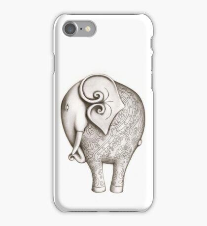 Engraved Elephant (Iphone Case) iPhone Case/Skin