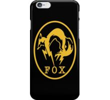 FOX MGS 5 iPhone Case/Skin