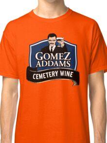 Gomez Addams Cemetery Wine Classic T-Shirt