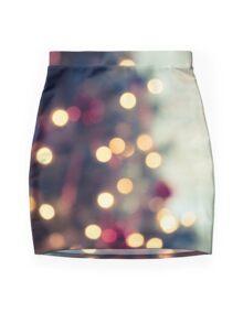 Seasons Greetings -- Vintage Glow Mini Skirt