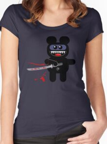 NINJABEAR Women's Fitted Scoop T-Shirt