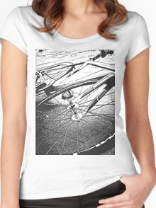 The Fixed Gear Women's Fitted Scoop T-Shirt