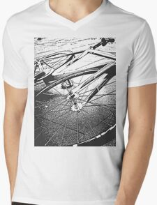 The Fixed Gear Mens V-Neck T-Shirt