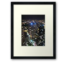 The top of Cillins St. Framed Print