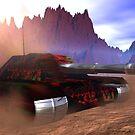 Red Ant Civilian Light Tank by XadrikXu