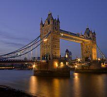 Tower Bridge at Sunset, London, UK by strangelight
