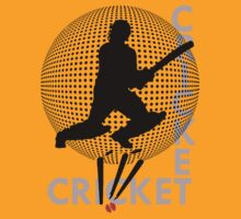 I LOVE CRICKET T-SHIRT by parko