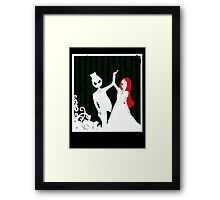 Dancing Through Your Nightmares Framed Print