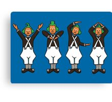 Oompa Loompa YMCA Canvas Print