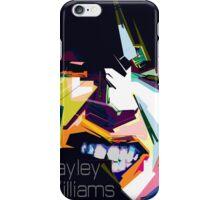 Hayley Williams Pop Art  iPhone Case/Skin