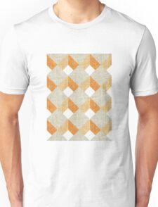 Orange wall Unisex T-Shirt