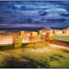 Coogee Rock Pool Twilight by Adriano Carrideo