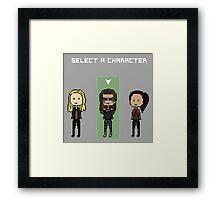 select lexa (x2) Framed Print