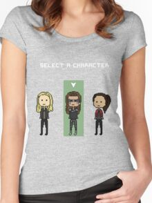 select lexa (x2) Women's Fitted Scoop T-Shirt