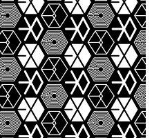 EXO Logo Pattern by skeletonvenus