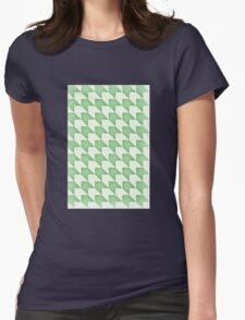 Green Spine Womens Fitted T-Shirt