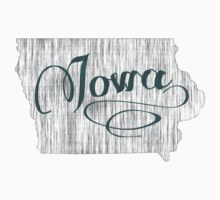 Iowa State Typography One Piece - Short Sleeve