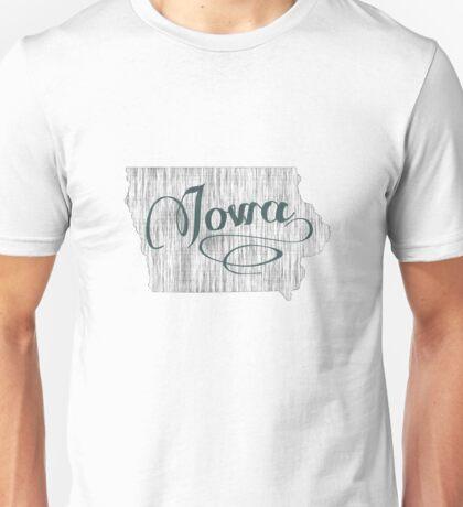 Iowa State Typography Unisex T-Shirt