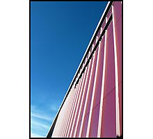 Lines: Reef Fleet Terminal Photographic Print