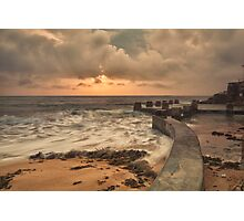 Pastel colours - Coogee Photographic Print
