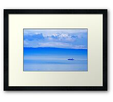 Philippine Sea Sunrise Framed Print