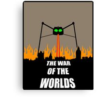 War of the Worlds Minimal Canvas Print