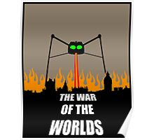 War of the Worlds Minimal Poster