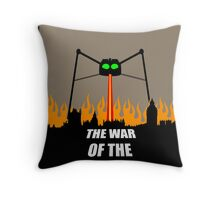 War of the Worlds Minimal Throw Pillow