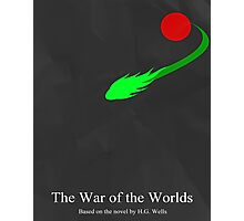 War of the Worlds Minimal 2 Photographic Print