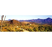 Flinders Ranges Panorama Photographic Print