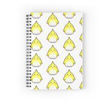 Plump Pixel Cockatiel Spiral Notebook