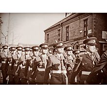 Duke of Lancaster's Regiment Freedom Parade - Ormskirk Photographic Print