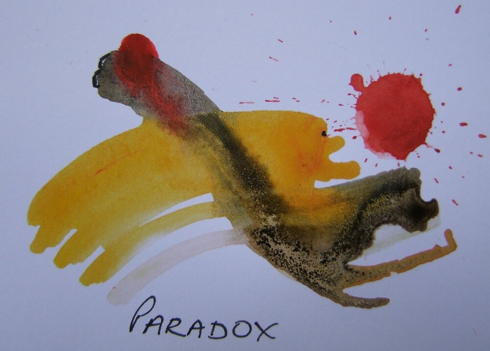 Paradox by leunig