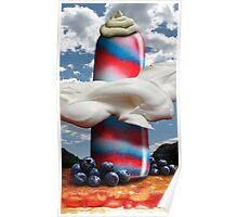 Popsicle Patriot Pillar Poster