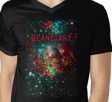 PLANETARY Mens V-Neck T-Shirt