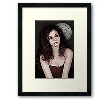 Dark Thoughs Framed Print