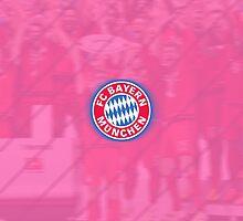Bayern Munich Celebration - Pink  by MisterJfro