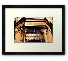 Ten Bells Pub Framed Print