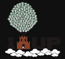 1UP (8bit) One Piece - Long Sleeve