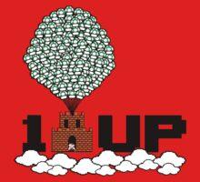 1UP (8bit) Kids Tee